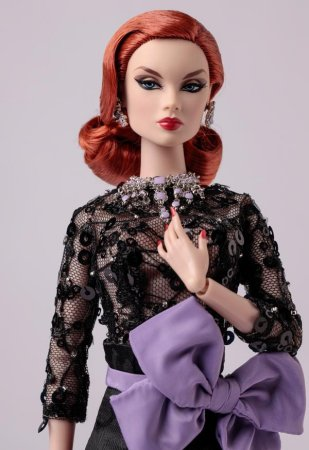 "BROCADE OUTFIT  FROM BLUE GOLD VICTOIRE ROUX 12/"" E59TH ST FASHION ROYALTY DOLL"