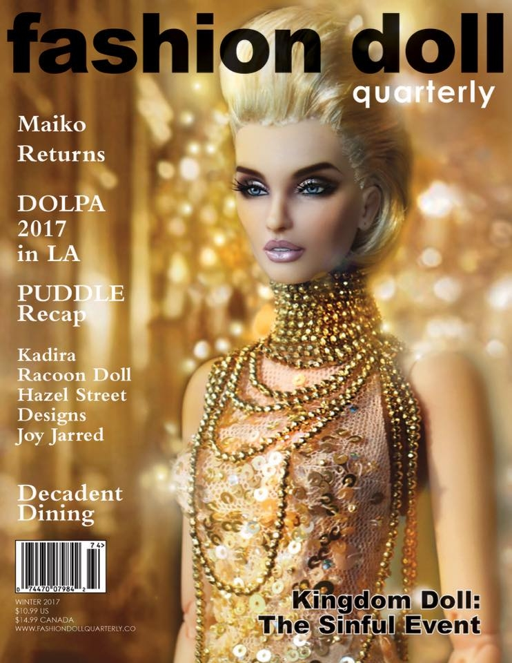 Fashion Doll Quarterly New Winter 2017 & Past Issues Of